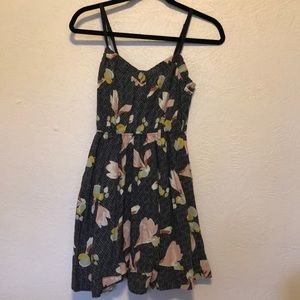 Floral sundress, size small